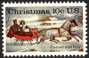 1974 Christmas Stamp