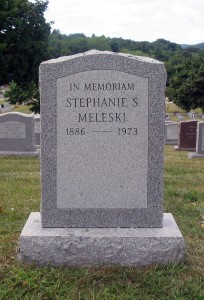 Monument for Stephanie Meleski - Reverse
