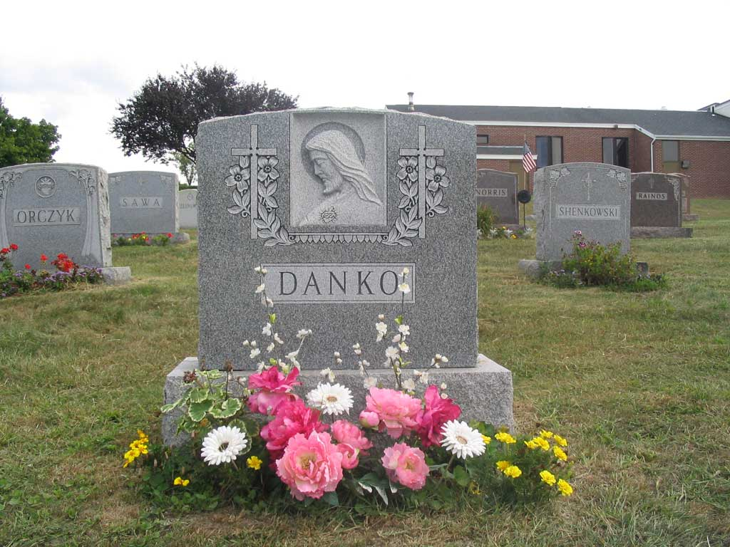 Monument for Michael Danko and Marianna Dziurzynska - Obverse