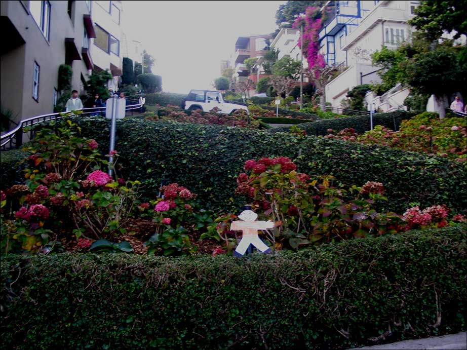 Flat Stanley Lombard St