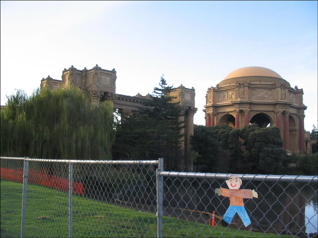 Flat Stanley Palace of Fine Arts
