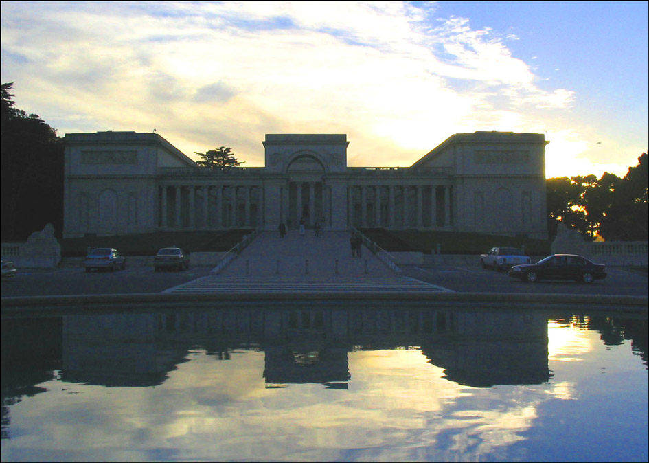 Flat Stanley Palace of the Legion of Honor
