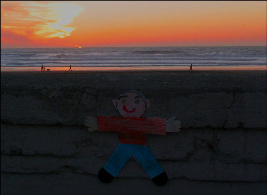 Flat Stanley Sunset