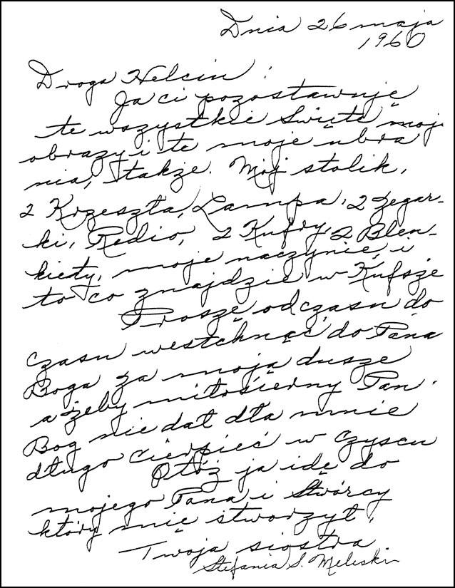 Stephanie Meleski's Letter to Helen