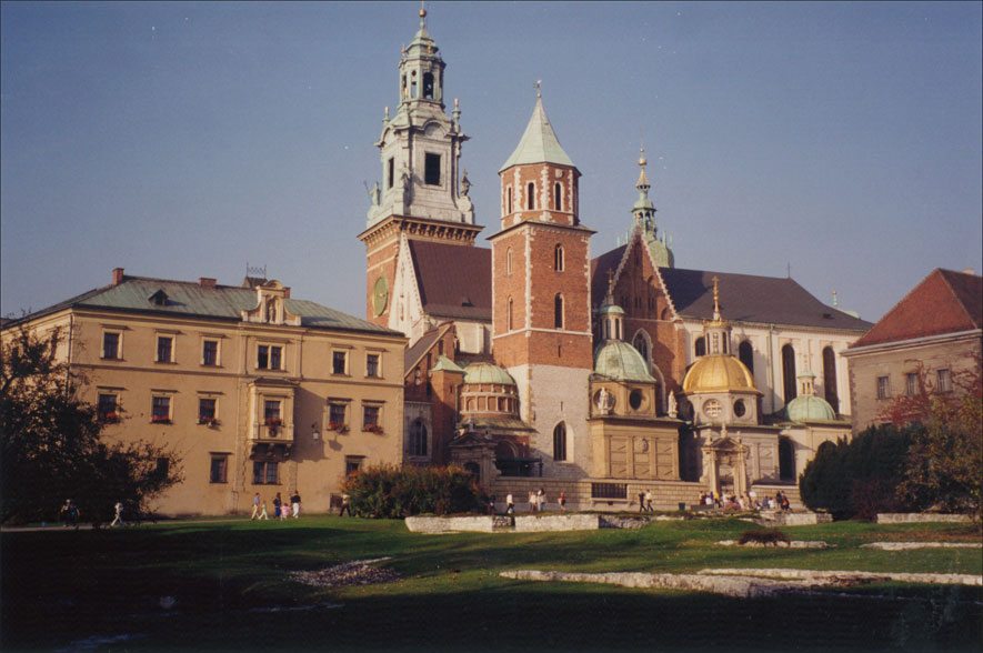 The Cathedral at Wawel Castle