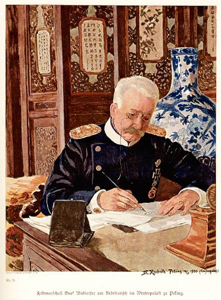 Generalfeldmarschall Alfred Graf von Waldersee