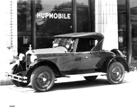 The 1924 Hupmobile