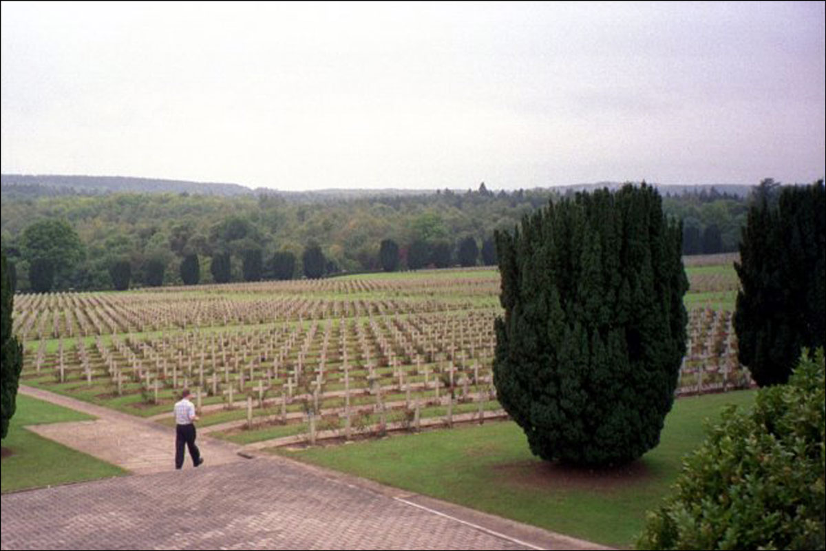 Graves at Douaumont