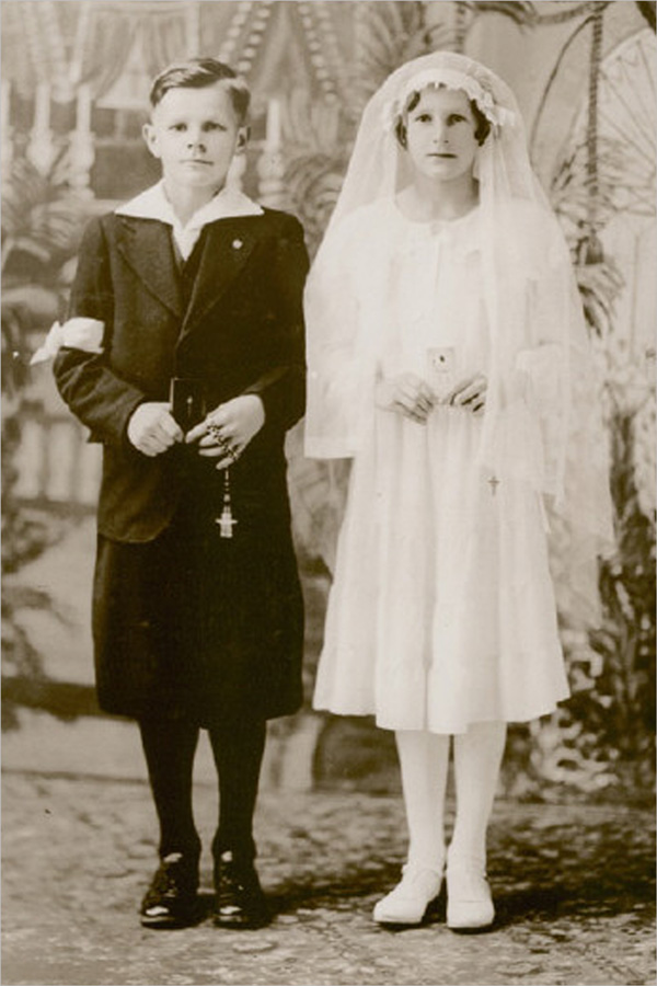 Ray and Jane First Communion