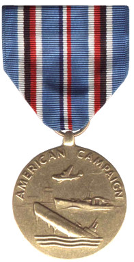 The American Campaign Medal- Obverse