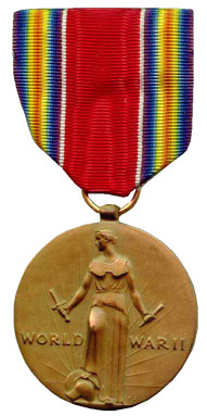 The World War II Victory Medal - Obverse