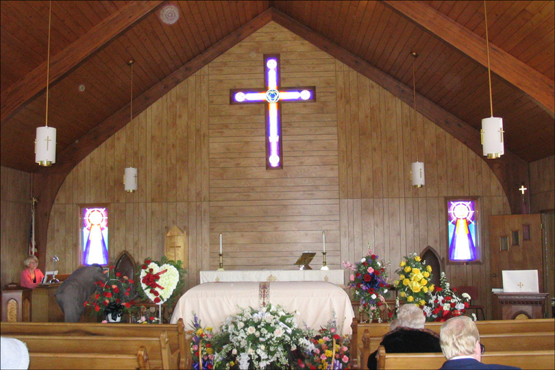 Trinity Lutheran Church Interior
