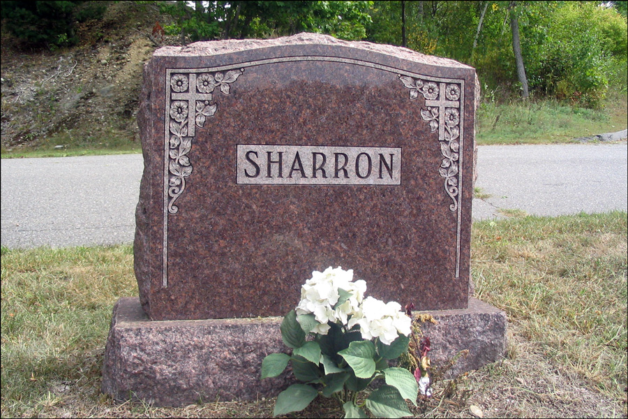 Monument of Robert Sharron - Front