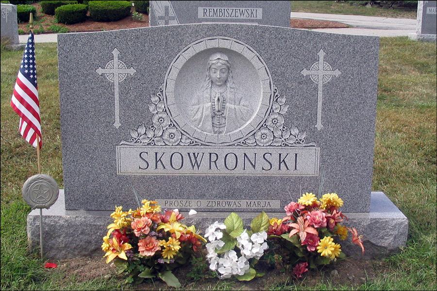 Skowronski Monument - Front