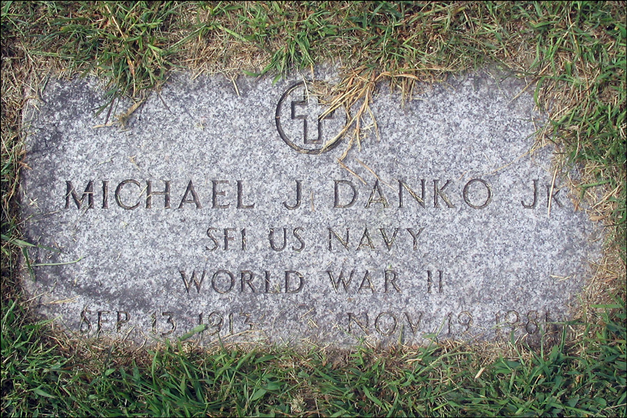US Military Veteran Marker for Michael J Danko Jr