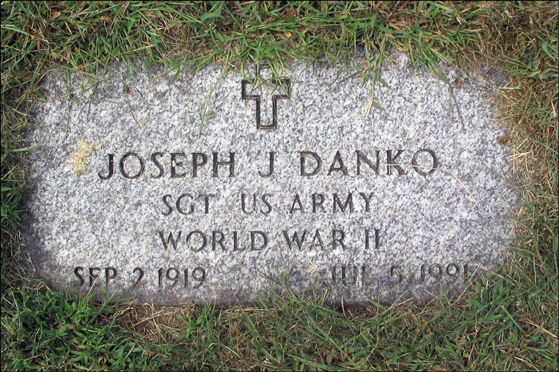 Military Marker for Joseph J. Danko