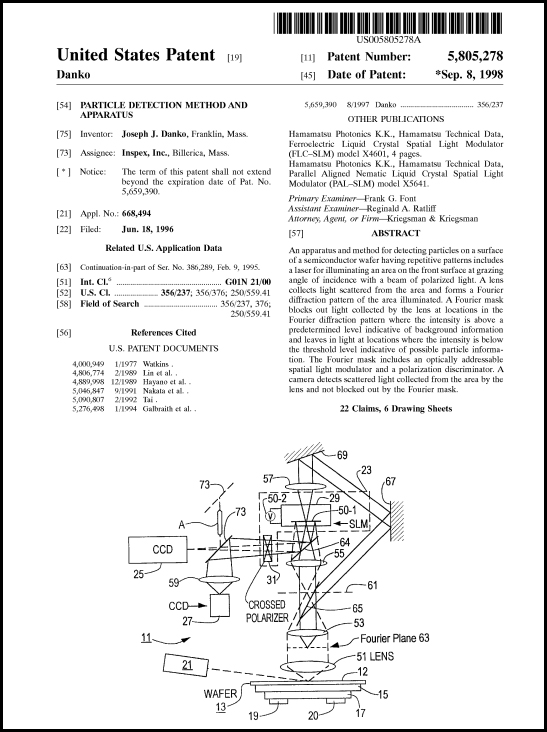Patent 5,805,278