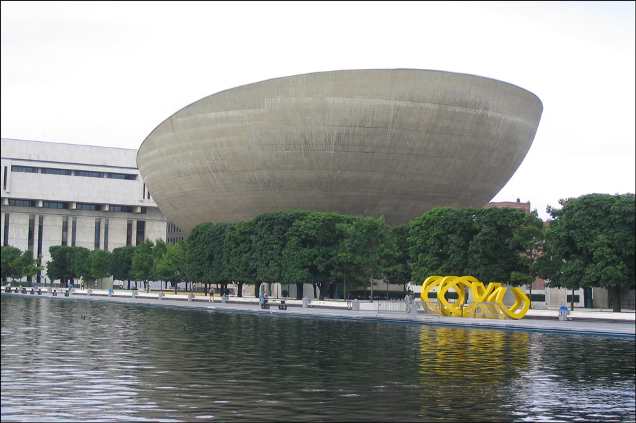 The Egg Performing Arts Center in Albany New York