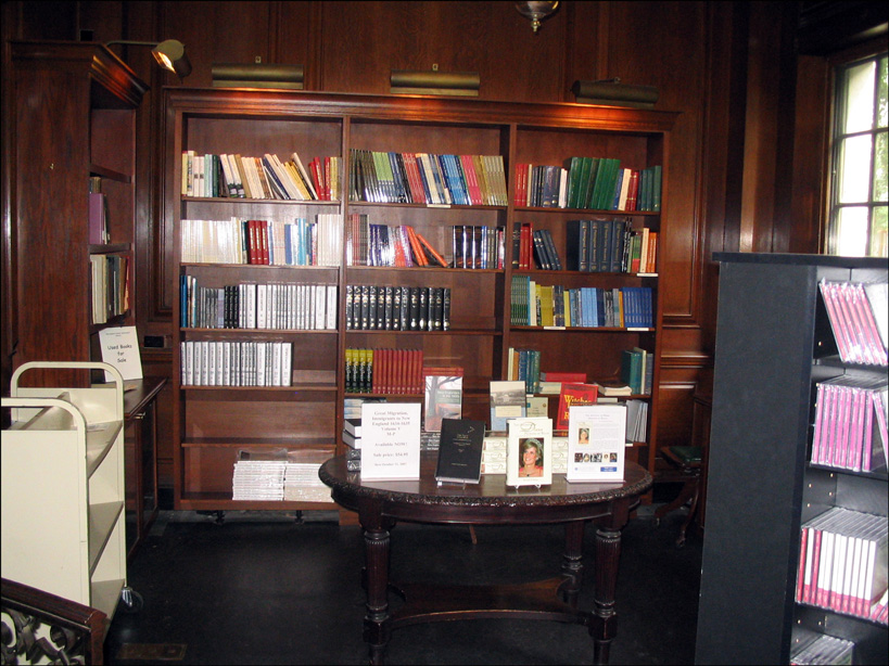 NEHGS Bookstore