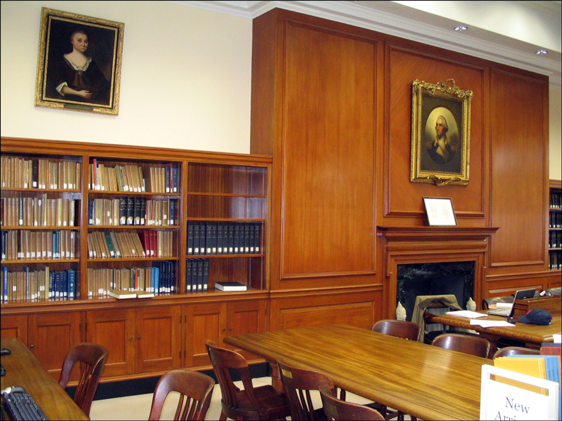Ruth C Bishop Reading Room, New England Historic Genealogical Society