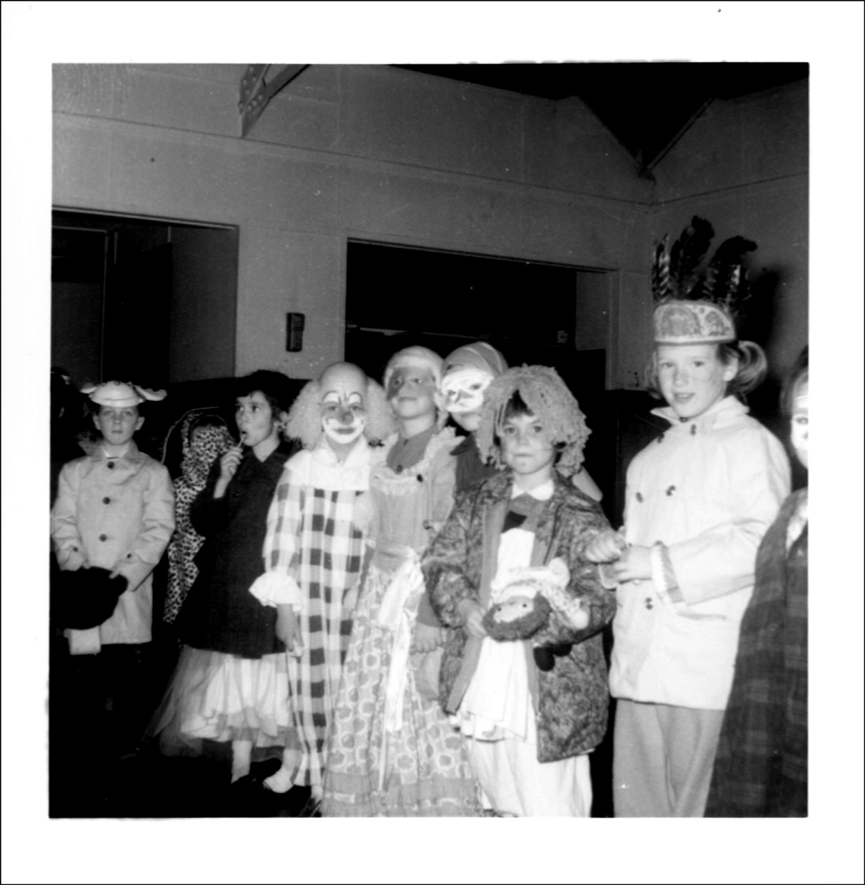 Halloween 1962 at the Vincentian Institute, Albany, New York ...