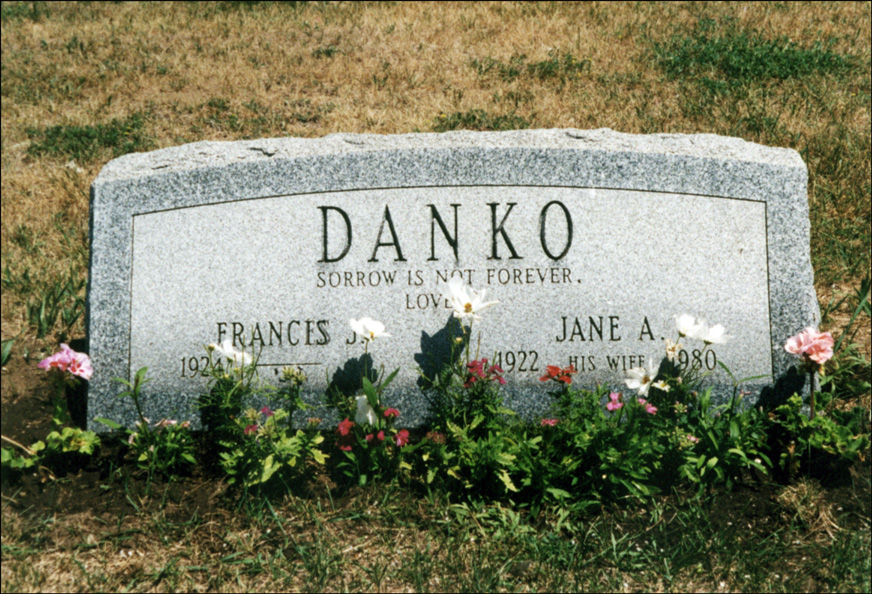 Grave of Jane Ann Niedzialkowski Danko