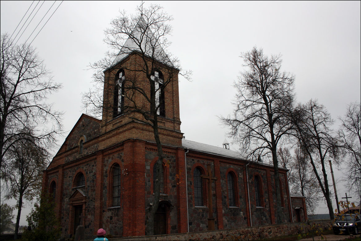 The Church in Butrimonys Lithuania - 2