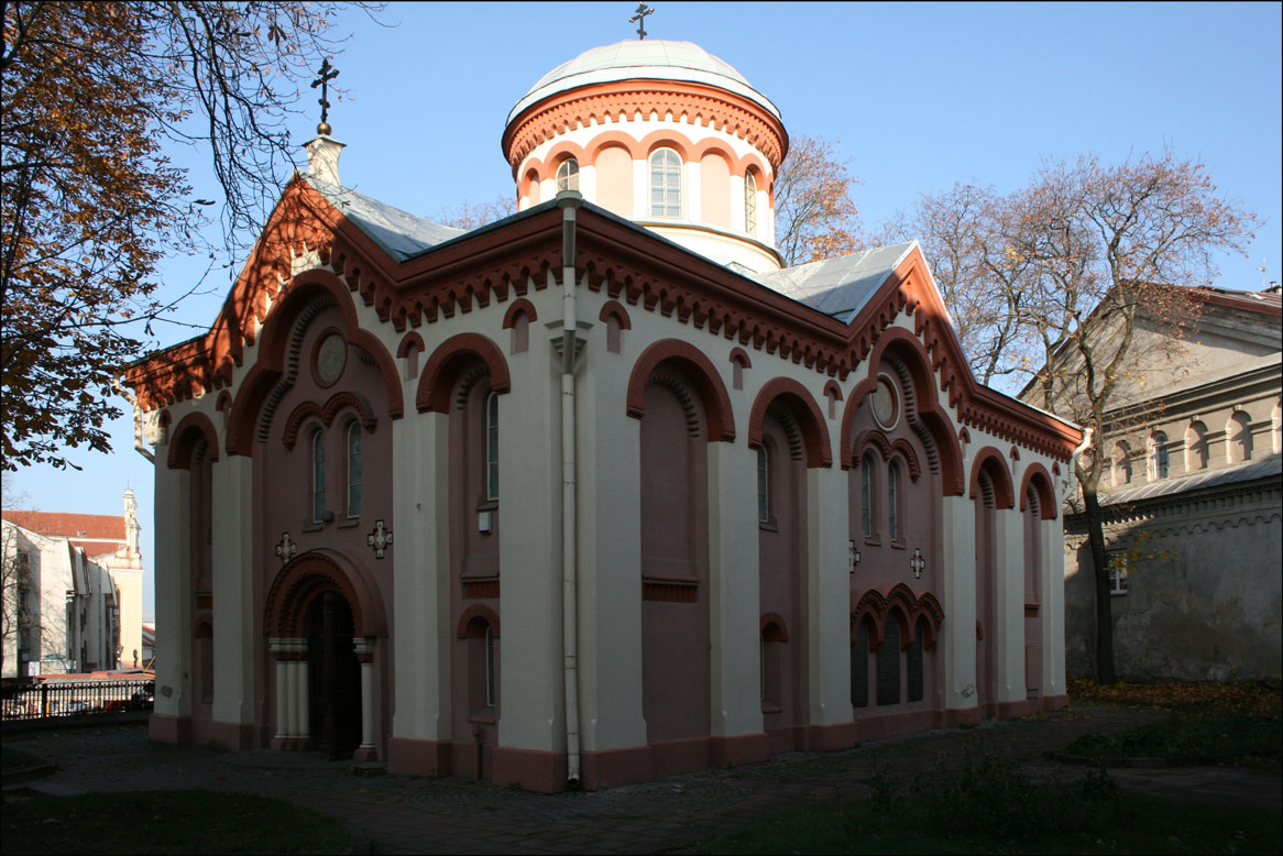 Orthodox Church of St Nicolas in Vilnius Lithuania - Exterior