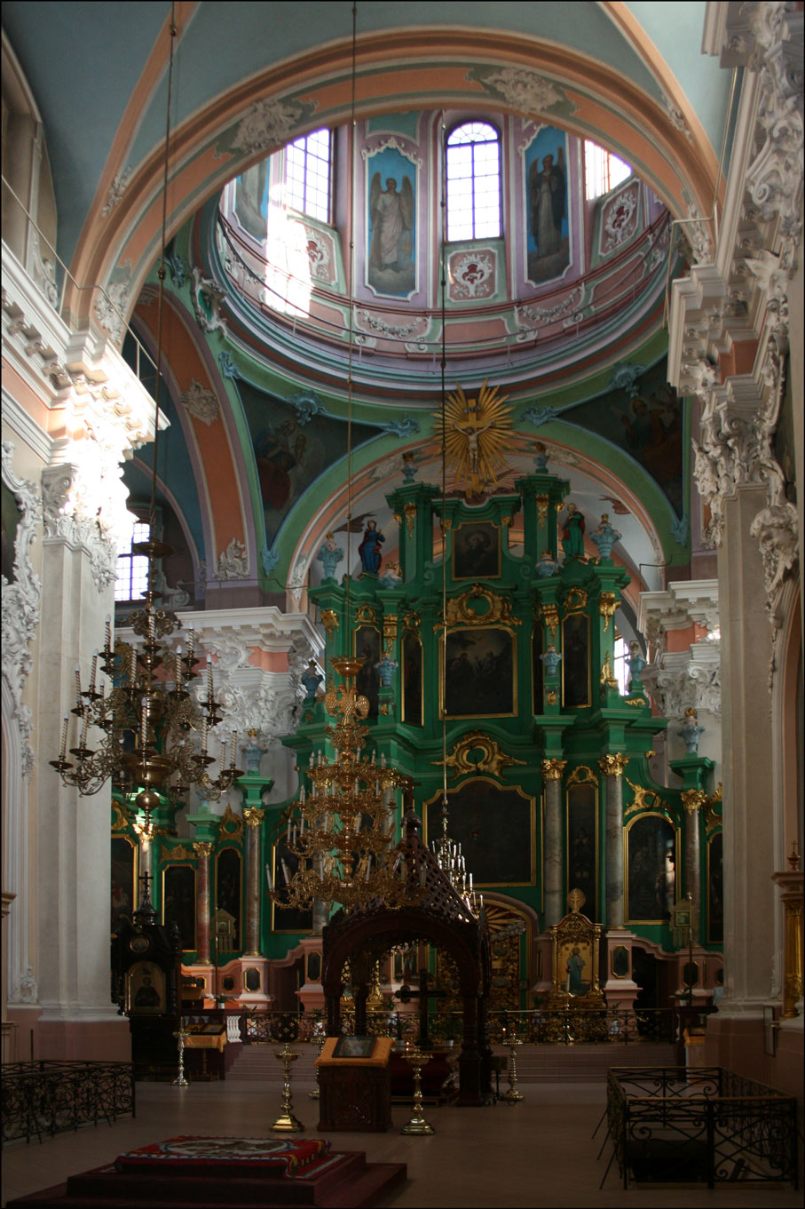Orthodox Church of the Holy Spirit in Vilnius Lithuania - Interior