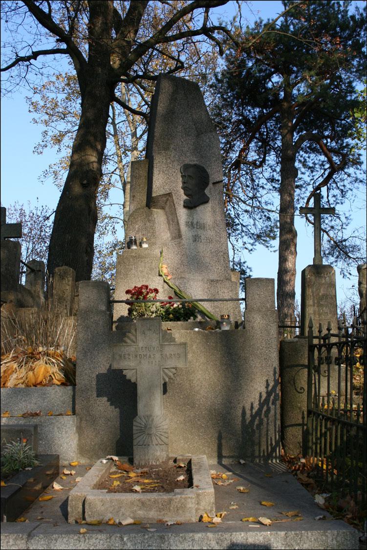 Grave of Mikalojus Konstantinas Čiurlionis