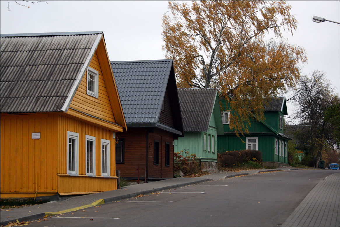 Karaite Houses in Trakai Lithuania