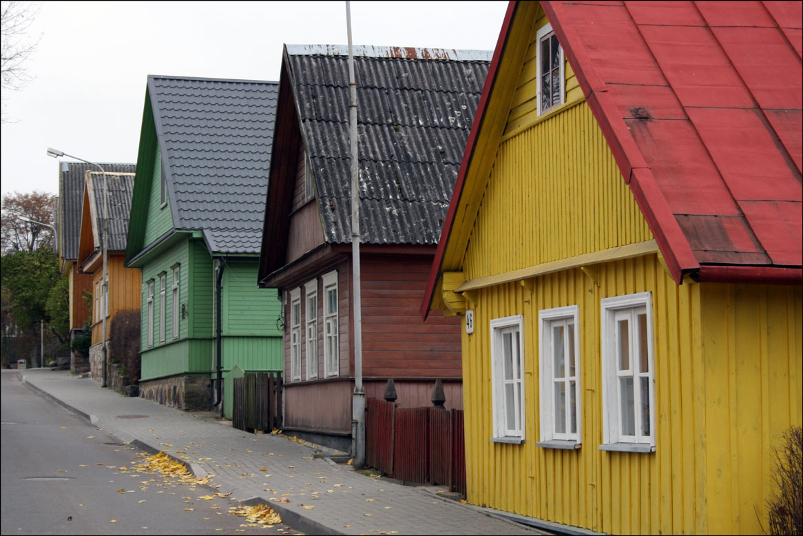 More Karaite Houses in Trakai Lithuania