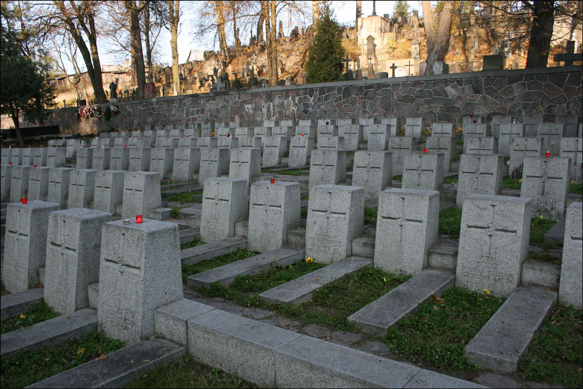 Graves of Polish Home Army Soldiers