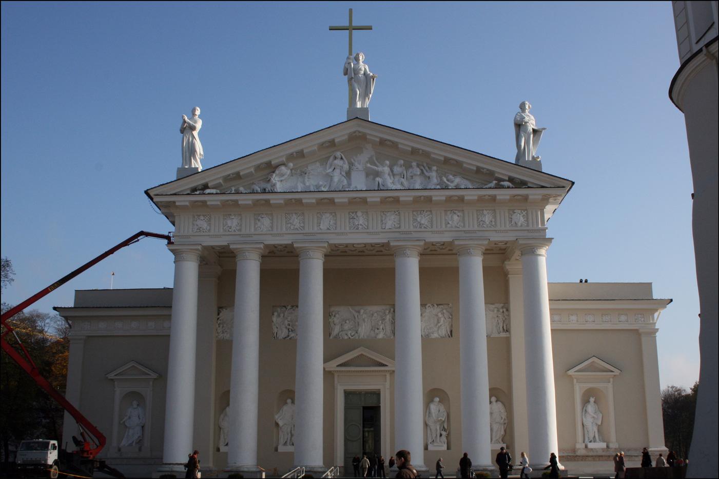 The Vilnius Cathedral - Vilnius Lithuania