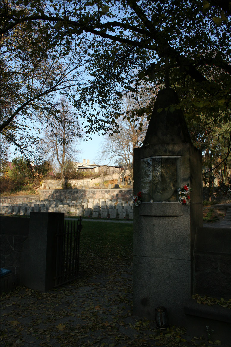 Entrance to Rasos Cemetery