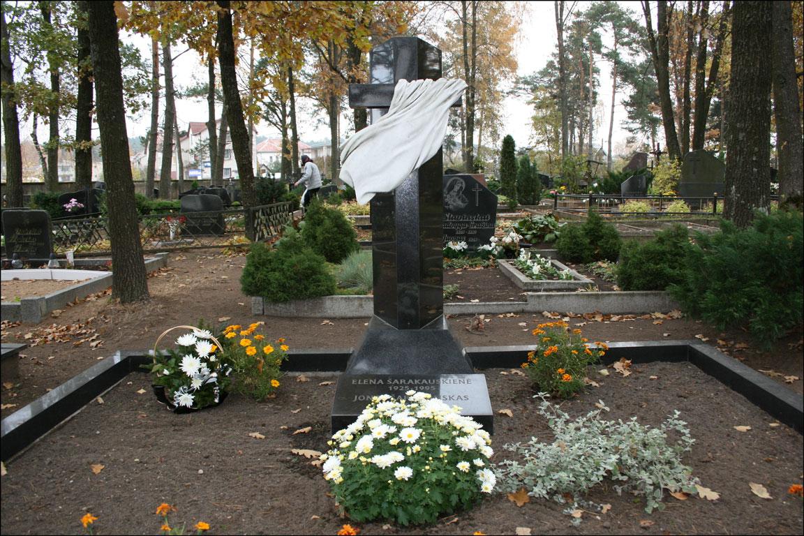Sarakauskas Grave in Alytaus Lithuania