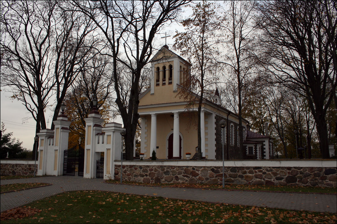 St Ludwig's Church in Alytaus Lithuania