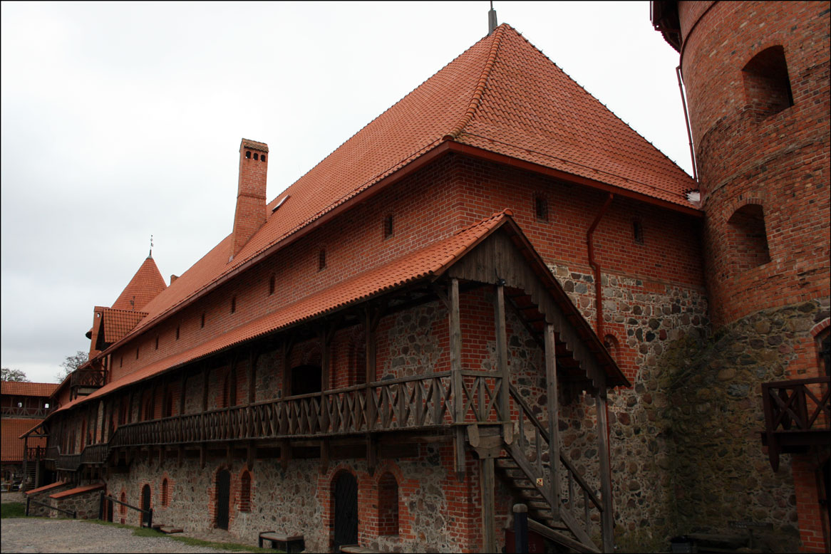 Island Castle Interior - Trakai Lithuania