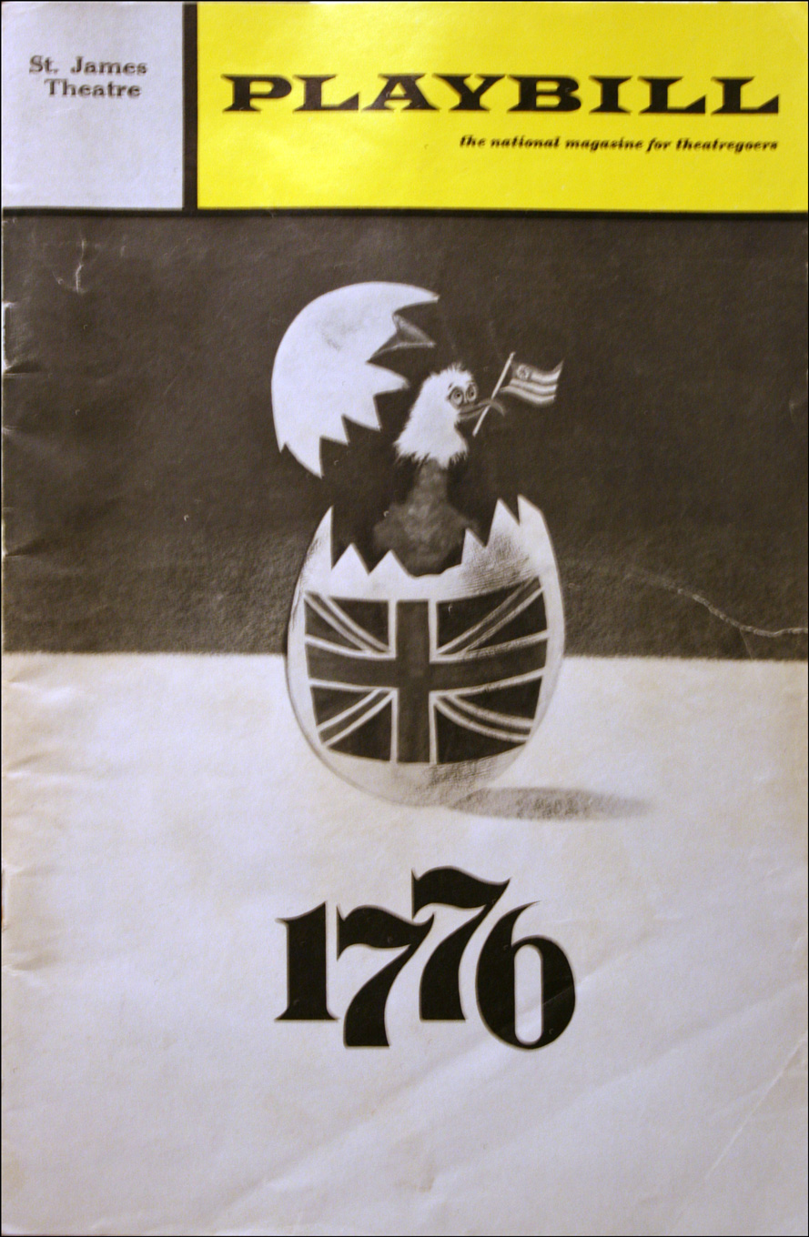 1776 - March 1971 Issue of Playbill