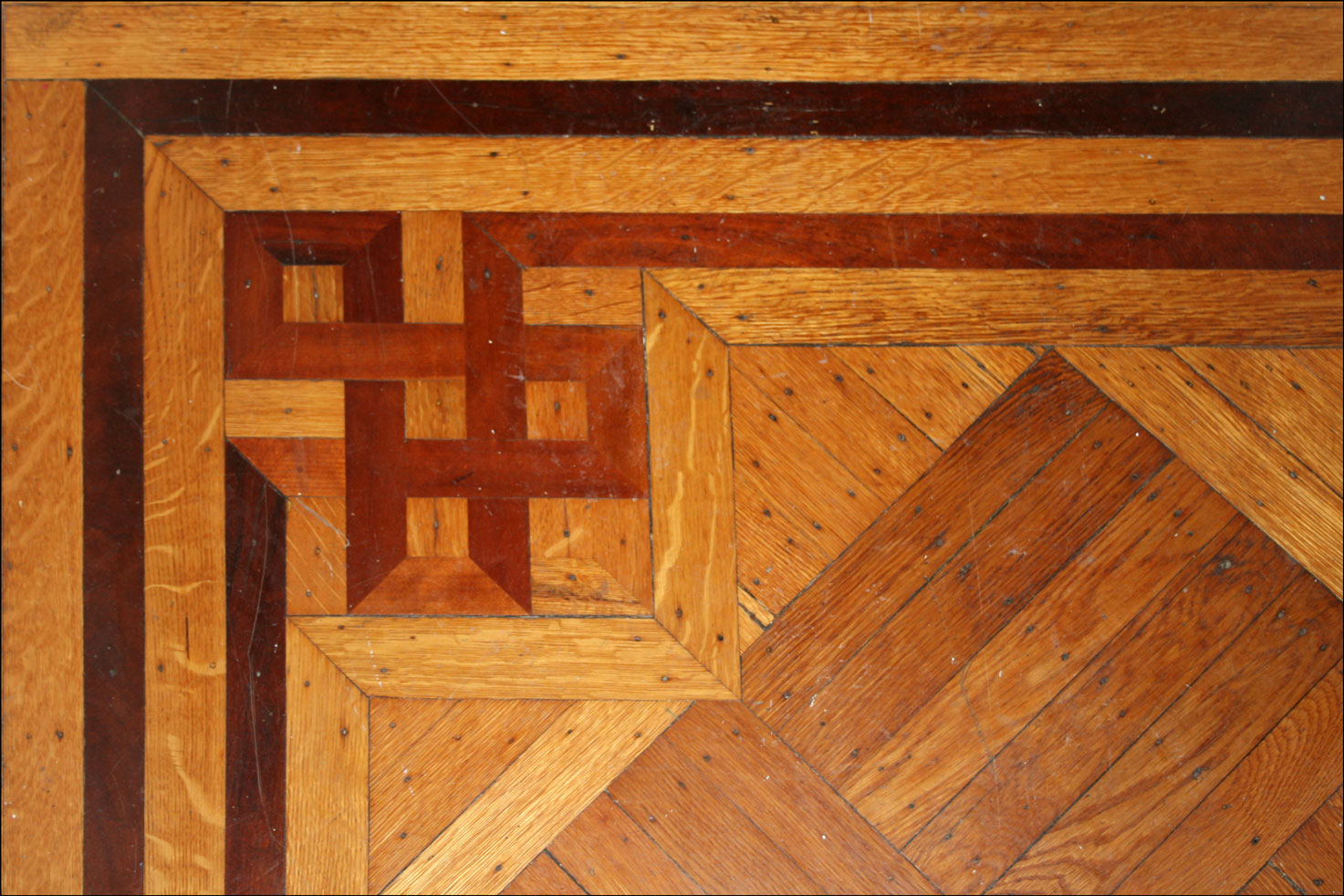 Parquet Floors in the Family Home in Albany, New York