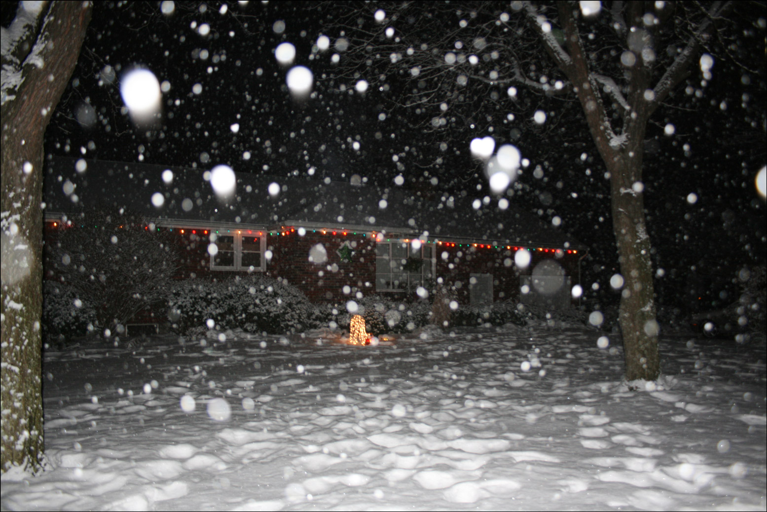 New Year's Eve Snow