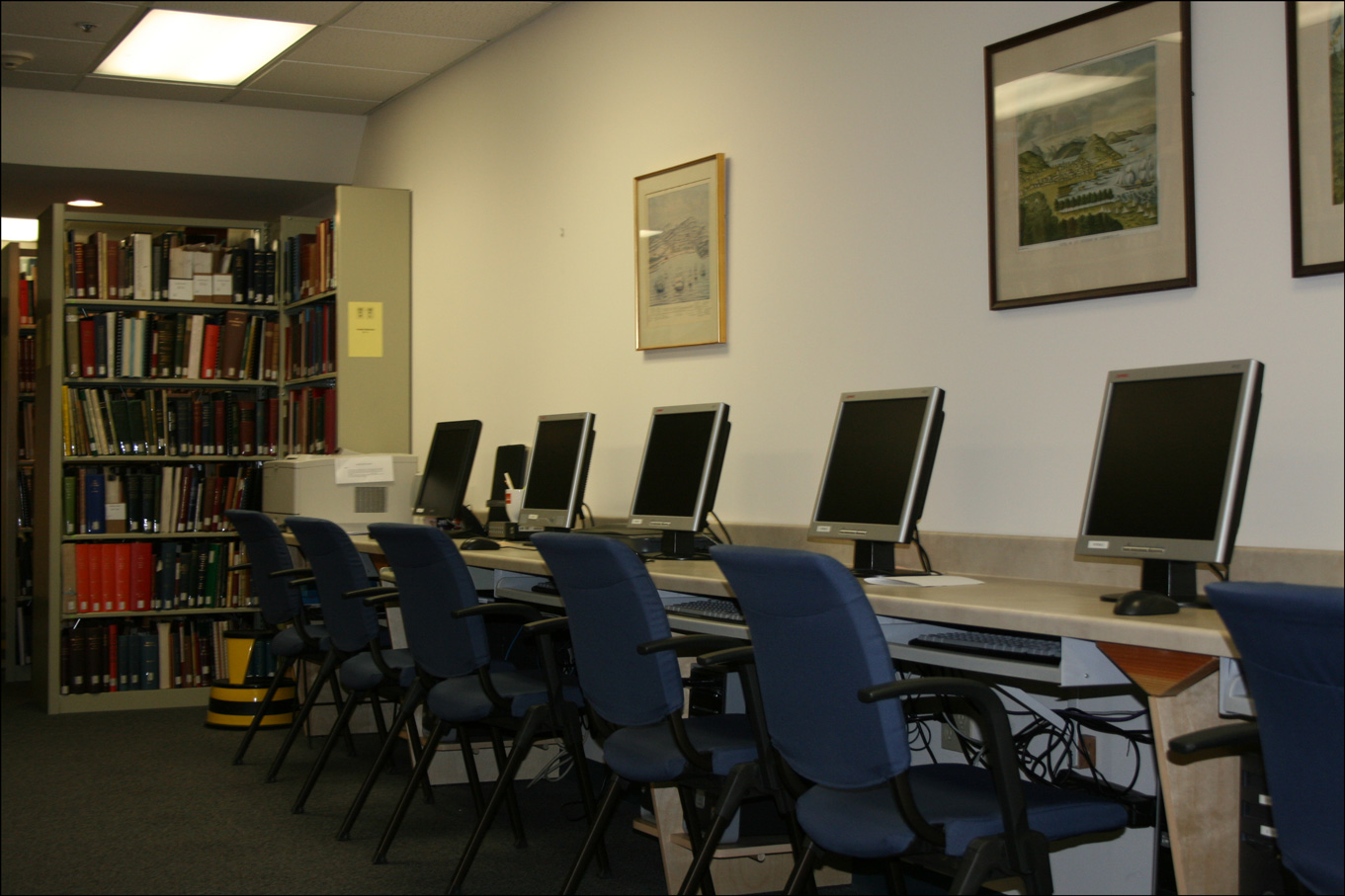 Computers at the California Genealogical Society and Library