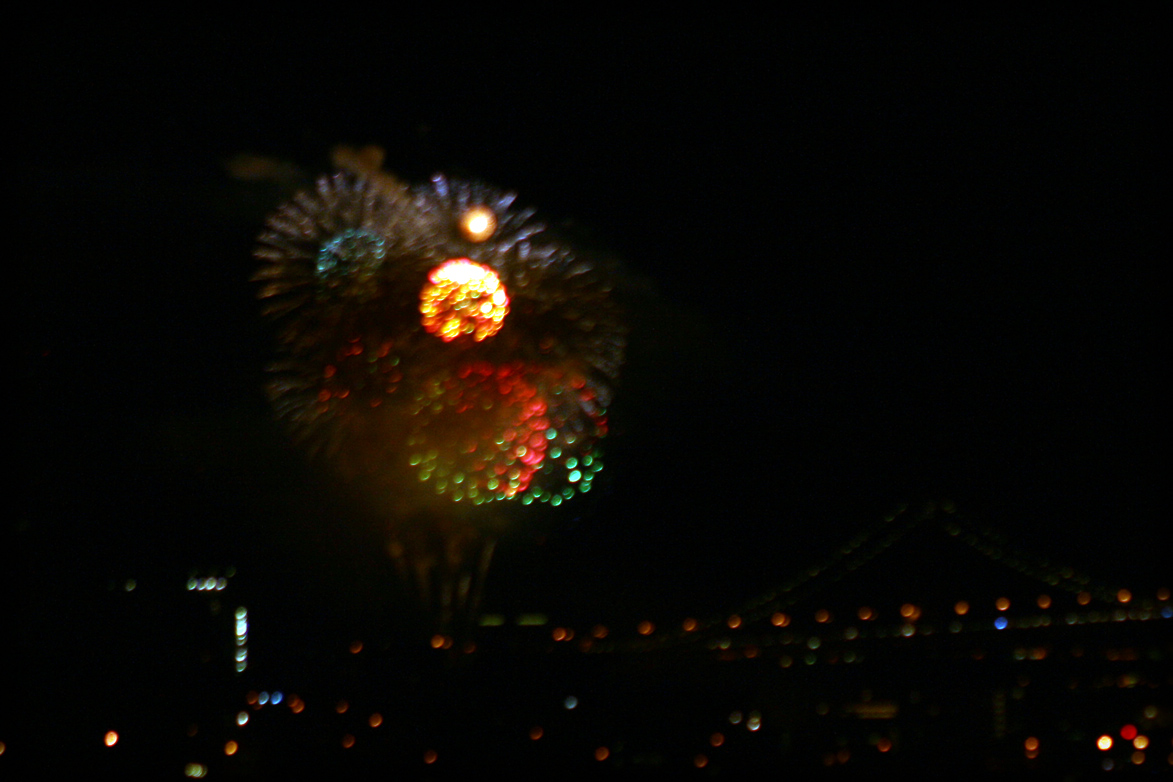 New Year's Fireworks in San Francisco - 2008