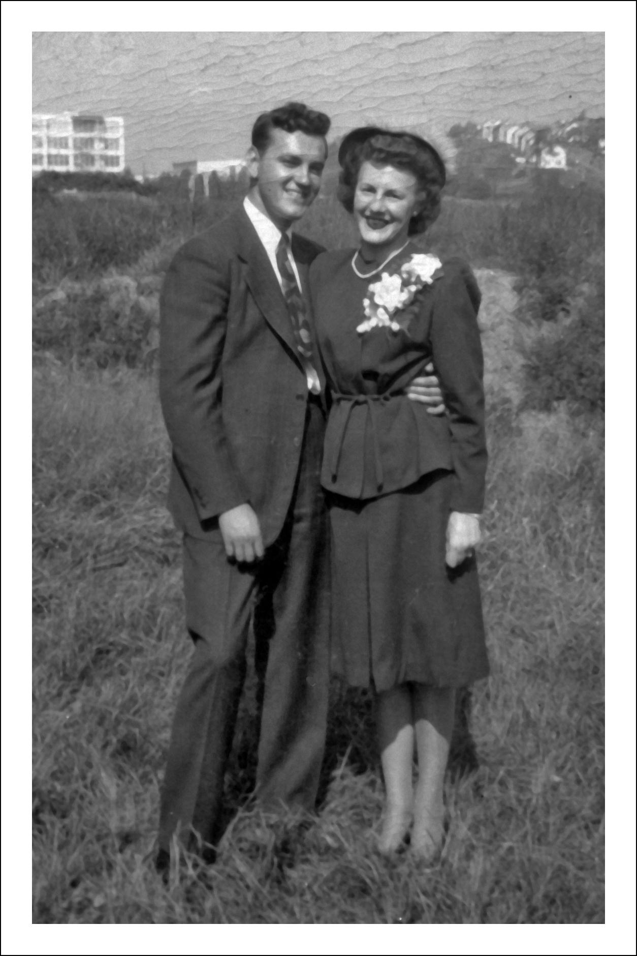 Frank Danko and Jane Niedzialkowski - 1946