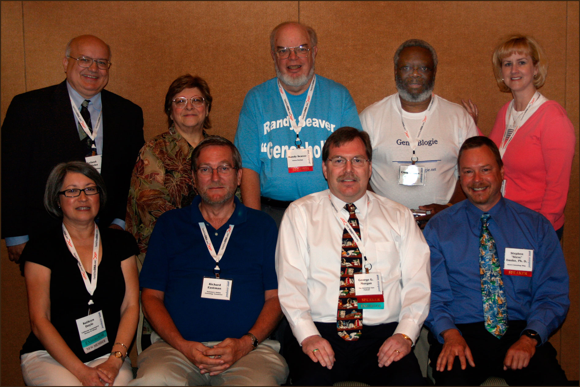 Genealogy Bloggers at Jamboree 2008