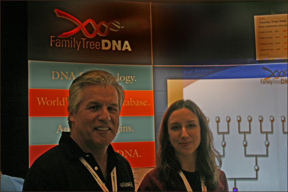 Max Blankfeld and Associate from Family Tree DNA