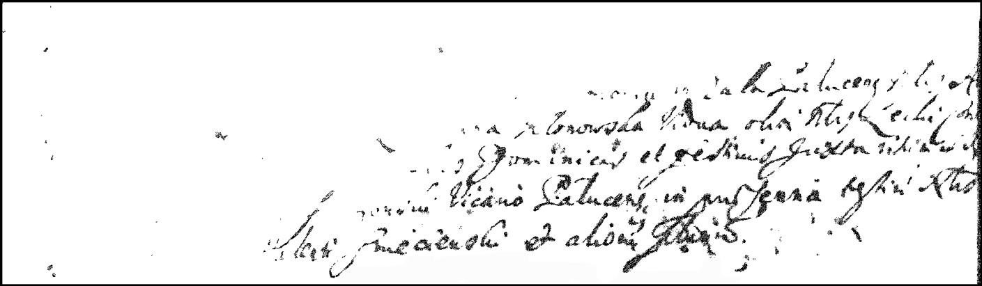 The Marriage Record of Andrzej Niedzialkowski and Anna Klonowska - 1673 - Image 1
