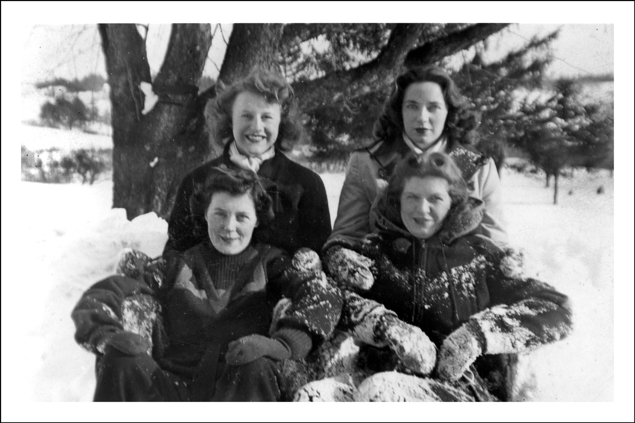 Jane Niedzialkowski, Peggy O'Leary, and Friends