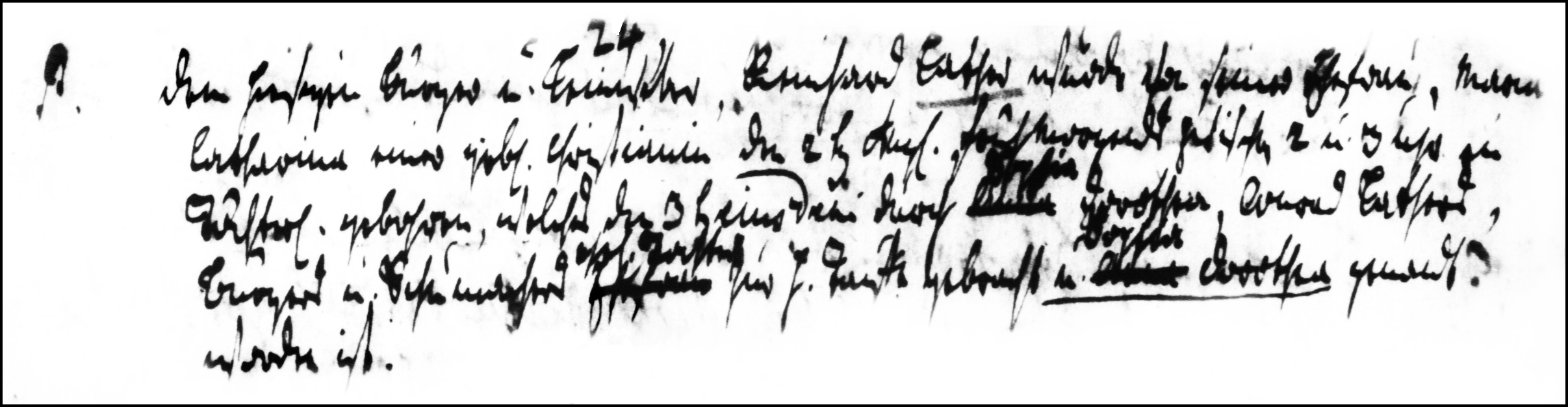 The Birth and Baptismal Record of Sophia Dorothea Lather - 1784