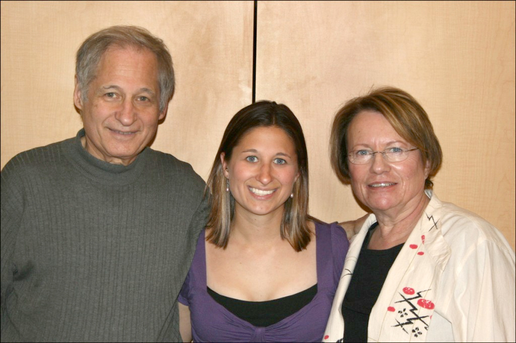Steve, Megan, and Anita Morse